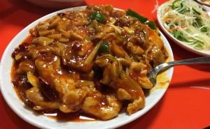 合川肉片(四川風豚肉炒め)