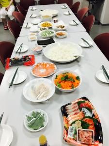 日本料理とポーランド料理